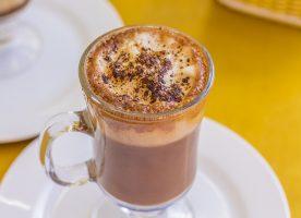 Padaria Alfamas no Campo Belo - Chocolate Quente